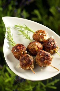 Lavender Lamb Meatballs Culinary Lavender, Lavender Recipes, Lamb Meatballs, White Meat, Eat In Kitchen, Food Hacks, Tapas, Food Porn, Food And Drink