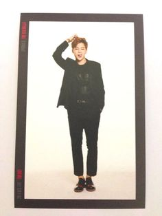 K-Pop BTS Bangtan Boys Jimin Photo Card #5 Red Bullet Concert Official MD Kpop