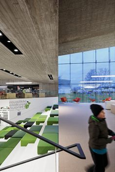 Finnish architecture studio JKMM architects, expansion of the Seinajoki City Library,