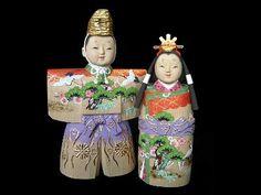 Nara Ittobori Ningyo. These dolls are hand carved of cypress wood in Nara, Japan.