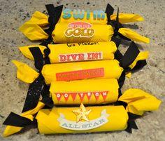 Spirit sticks for Cheerleading Cheer Team Gifts, Dance Team Gifts, Cheer Coaches, Cheer Mom, Cheer Stuff, Coaches Wife, Cheer Spirit Sticks, Youth Cheerleading, Spirit Gifts