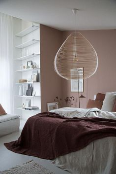 cozy bedroom Cozy bedroom with a warm muted palette in the home of Niki Brantmark. Styling by Genevieve Jorn, photo by Niki Brantmark My Scandinavian Home Scandinavian Bedroom, Cozy Bedroom, Home Decor Bedroom, Bedroom Ideas, Master Bedroom, Bedroom Inspiration, White Bedroom, Master Suite, Pink Bedroom Walls