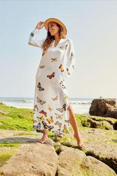 Resort Style, Johnny Was, Free Spirit, Cover Up, Boho, Elegant, Fabric, Dresses, Women