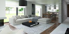 Projekt domu HomeKoncept 1 - aranżacja wnętrza www.homekoncept.pl #projektdomu