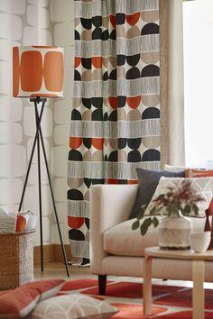 Lohko Collection by Scion. #interiordesign #scion #fabric #lohko #wallpaper #malcolmfabrics
