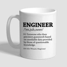 Engineer Gifts Engineer Mug Gifts For Engineers Funny Coffee Mug Quotes, Coffee Humor, Gymnastics Birthday Cakes, Engineer Mug, Engineers Day, Engineering Quotes, Computer Humor, Army Gifts, Funny Shirt Sayings
