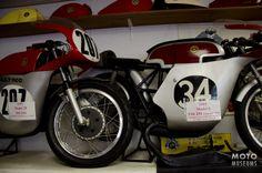 Bultaco TSS Racers seen at Hugh's Bultaco Motorcycle Museum.
