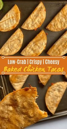 appetizers mealprep chicken lowcarb baked tacos lunch keto Baked Chicken TacosYou can find Healthy recipes and more on our website Cheesy Baked Chicken, Baked Chicken Tacos, Chicken Taco Recipes, Mexican Food Recipes, Cooked Chicken, Chicken Appetizers, Recipes Dinner, Pesto Chicken, Chicken Sausage