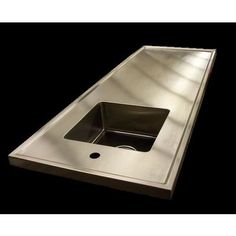 Stainless Steel Island Countertop by SpecialtyStainless.com on HomePortfolio