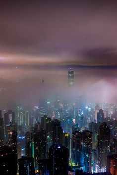 Free stock photo of city, sky, night, clouds