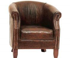 Nottingham fåtölj i läder » Artwood » Varumärken - Kila Möbler