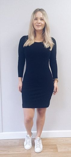 Louise wearing two pairs of Spanx - just like Kim