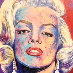 Beautiful Marilyn Monroe portrait from Comic Con in NYC