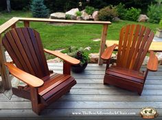Attirant The Royal Wooden Adirondack Chair From The Best Adirondack Chair Company  Offers You The Ultimate Comfort. Visit Us To Shop Adirondack Style Furniture  And ...
