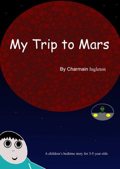 My Trip to Mars is a delightful rhyming children's bedtime story for young children. In a young boys dream he flies to Mars and meets an alien. The young boy and the alien fly in a car, swim in a crater, burst giant lava bubbles and see a yellow tongued creature. But as the Sun comes out their fun comes to an end for the young boy has to return home or be late for school!  A children's picture dream book for children aged 3-5 years