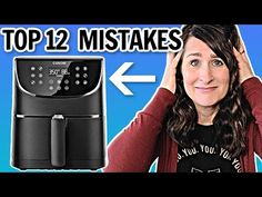 Top 12 Air Fryer MISTAKES → How to Use an Air Fryer - YouTube