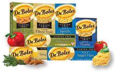 Gluten Free Pasta Products. I like the amaranth, quinoa, rice spaghetti.