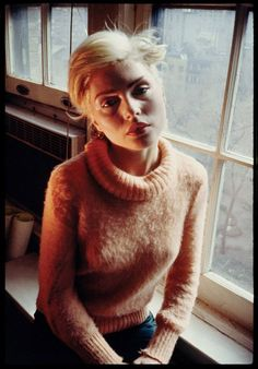 Debbie Harry at The Gramercy Park Hotel, 1978.