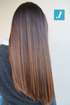 The perfection of color _ Degradé Joelle ., The perfection of color _ Degradé Joelle # degradé Brown Ombre Hair, Brown Hair Balayage, Brown Blonde Hair, Brown Hair With Highlights, Ombre Hair Color, Hair Color Balayage, Brunette Hair, Brown Hair Colors, Caramel Hair Highlights