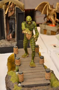 Creature from the Black Lagoon! Classic Monster Movies, Classic Horror Movies, Classic Monsters, Classic Films, Horror Monsters, Scary Monsters, Famous Monsters, Monster Characters, Black Lagoon