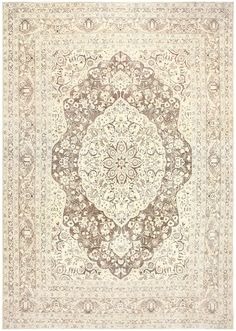 Antique Persian Tabriz Rug, Country of Origin / Rug Type: Persia Rugs, Circa Date: First Quarter of The 20th Century 12 ft x 18 ft (3.66 m x 5.49 m)