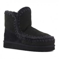 2ada664d60e Mou Eskimo 18 Black  Retro  wintershoes  fashionmodel Hard Wear