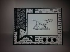 This Beautiful Thank you Card comes from the Stampin Up! Stamp set: The Wilderness awaits. Cardstock: whisper White & Basic Black. DSP: Everyday Chic.