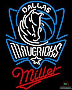 Miller Dallas Mavericks Neon Sign NBA Teams Neon Light