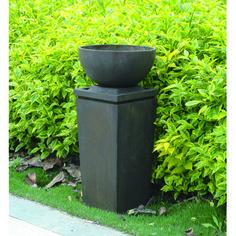 """A&B Home - D11.8x27.6"""" Zen Bowl Outdoor Fountain 1EA/CTN"""