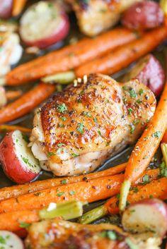 Garlic Ranch Chicken and Veggies