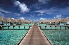 """Yes - It's actually called """"Paradise Island"""" in the Maldives."""
