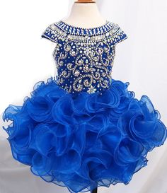 avalible in 15 color ---Infant/toddler/baby/children/kids Girl's glitz Pageant evening/prom Dress/clothing  1~6T G225 by jenniferwu58 on Etsy https://www.etsy.com/listing/261482042/avalible-in-15-color