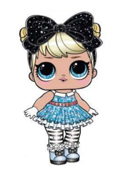 Welcome to the home of LOL Surprise where babies run everything. Meet your favorite LOL characters, take quizzes, watch videos, check out photos, and more! Lol Dolls, Cute Dolls, Girl With Purple Hair, Chibi Kawaii, Doll Drawing, Glam And Glitter, Paper Dolls Printable, Doll Party, Cricut Creations