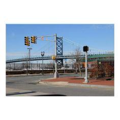 The Ben Franklin Bridge, Philadelphia, PA