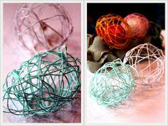 Ażurowe jajka, Wielkanoc DIY www.rekodzielo-art.pl