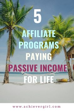 Want recurring income while enjoying life on the beach or wherever your travels take you? If financial freedom is your goal, these 5 continuity affiliate programs are an ideal way to passive income that pays for life! Make Money From Home, Make Money Online, How To Make Money, Marketing Program, Affiliate Marketing, Home Based Business, Business Tips, Enjoying Life, Ways To Earn Money