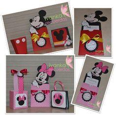 In Love With Scrap: Mickey Mouse invitaciones y Minnie