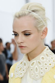 ginta lapina at louis vuitton spring 2012.