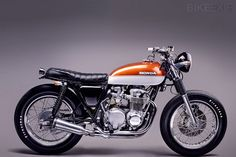 cafe motorcycle seats honda cb750 | Honda CB550F Super Sport | Cool Red Car