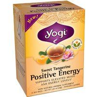 Yogi Teas Sweet Tangerine Positive Energy Tea  16 Ea 4 Pack * Be sure to check out this awesome product. Note: It's an affiliate link to Amazon.