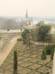 Amboise (Loire Valley), France – Chateau Royal de Blois   1491, gardens