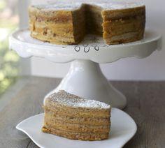 Torta panqueque | En mi cocina hoy  Manjar nuez