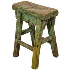 Antique Chinese Provincial Stool | From a unique collection of antique and modern furniture at http://www.1stdibs.com/furniture/asian-art-furniture/furniture/