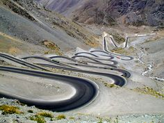 most dangerous roads in the global village PASO INTERNACIONAL LOS LIBERTADORES , CHILE