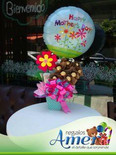 Mamá solo hay una! #globos #arreglos #regalos Amer,  55246977