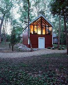 small cabin with open loft