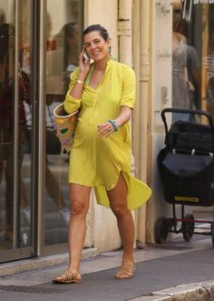 Pregnant Charlotte Casiraghi positively glowing in St Tropez ahead of brother Andrea's weddingCharlotte, who is expecting her first child with boyfriend – and rumoured fiancé – French comedian Gad Elmaleh, is clearly taking her pregnancy and the upcoming wedding in her stride.
