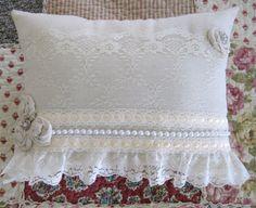 Feminine Lace Pillow