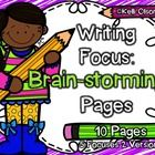 Do your students get stuck about what to write? These 5 pages, with 2 versions of each, can be used to end their writer's block and have countless ...