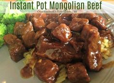Do you have an Instant Pot yet? If you do, you might want to cancel your dinner plans and whip up my friend Amberlina's Mongolian beef recipe. It looks so good!  She told me that she's used flank steak, sliced up a rib-eye, and also used some stew meat once that was about to go bad. She said …